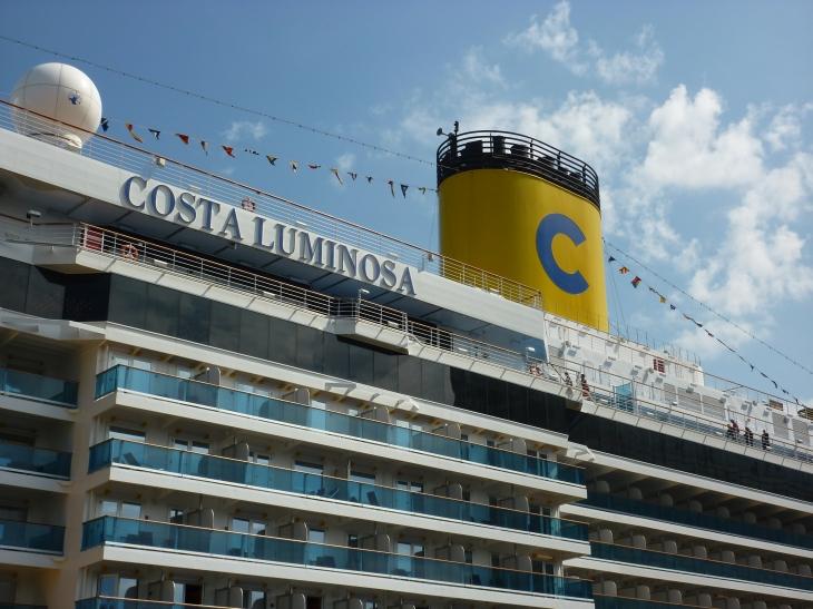 Costa Luminosa scheepsnaam