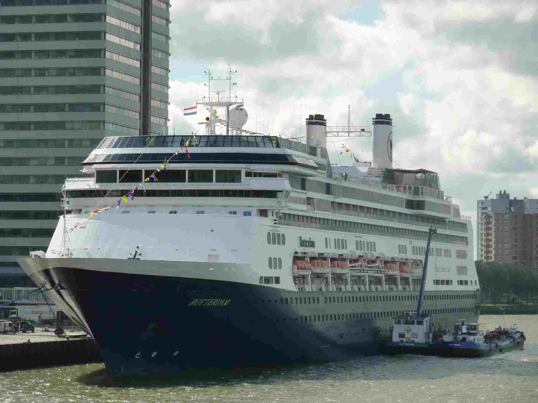 MS Rotterdam Cruisereiziger - Ms rotterdam