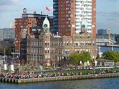 kade cruiseterminal Rotterdam