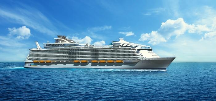 Maidenvoyage Harmony of the Seas @ Southampton