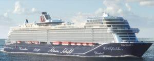 Maiden voyage Mein Schiff 1