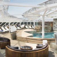 Mini cruise in Yacht Club van MSC Meraviglia – 5 april 2018